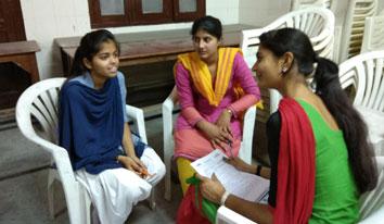 Mentoring session